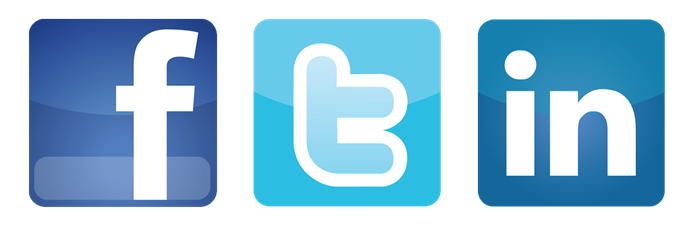 Facebook and twitter icons png. Follow us on sosial