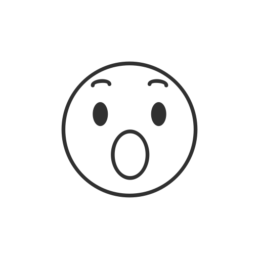 Facebook angry emoji png. Amazed fb reaction icon