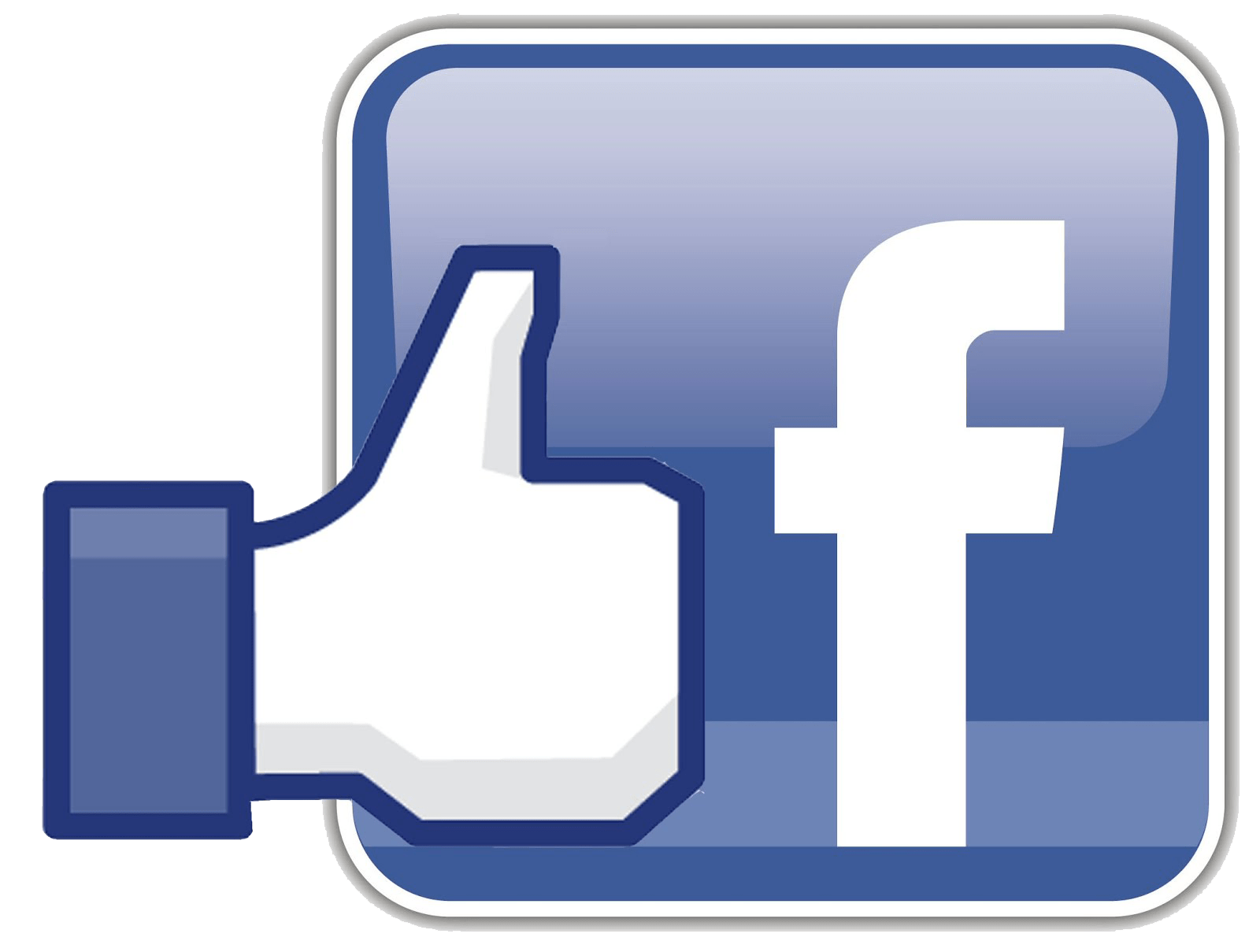 Facebook like logo png. Icon with transparent stickpng