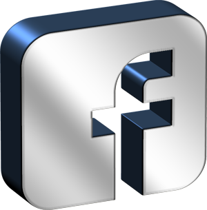 Square Chrome Facebook Icon