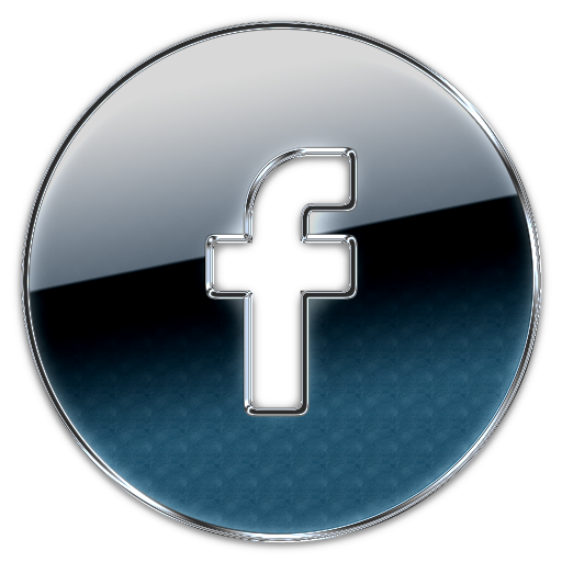 Facebook png. Circle button icon clipart
