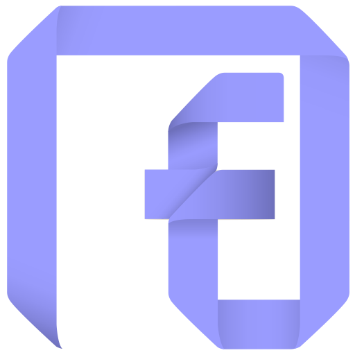 Facebook fan page png. Origamicon colorful free by