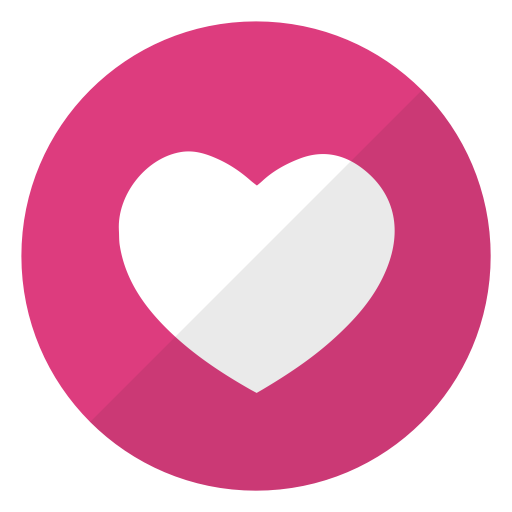 Facebook heart icon png. Like notification instagram ico