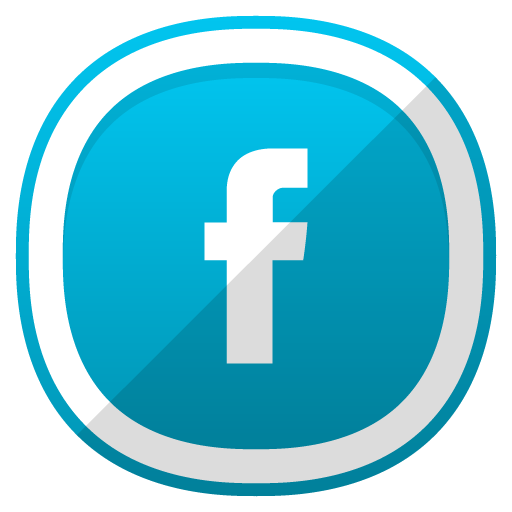 Facebook icon png. Free cute shaded social