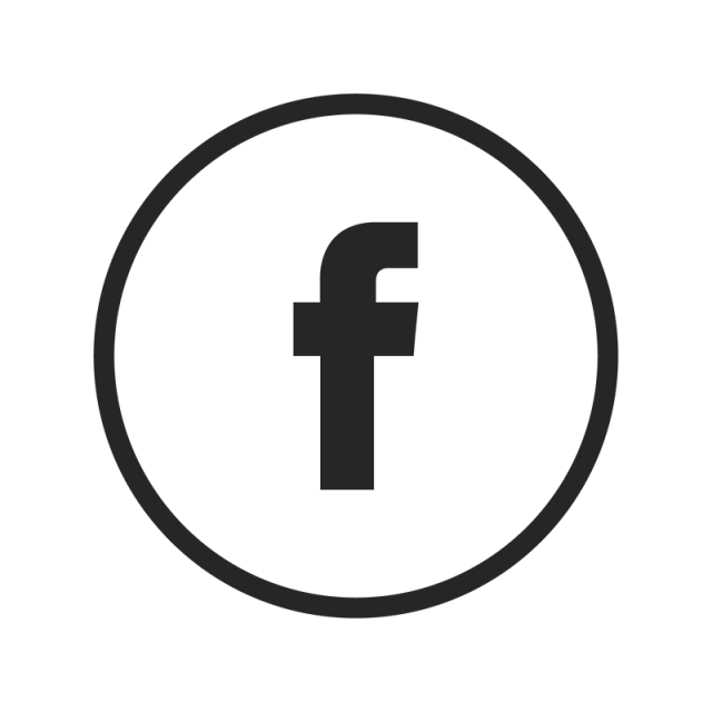 Facebook icon png black. White and vector for
