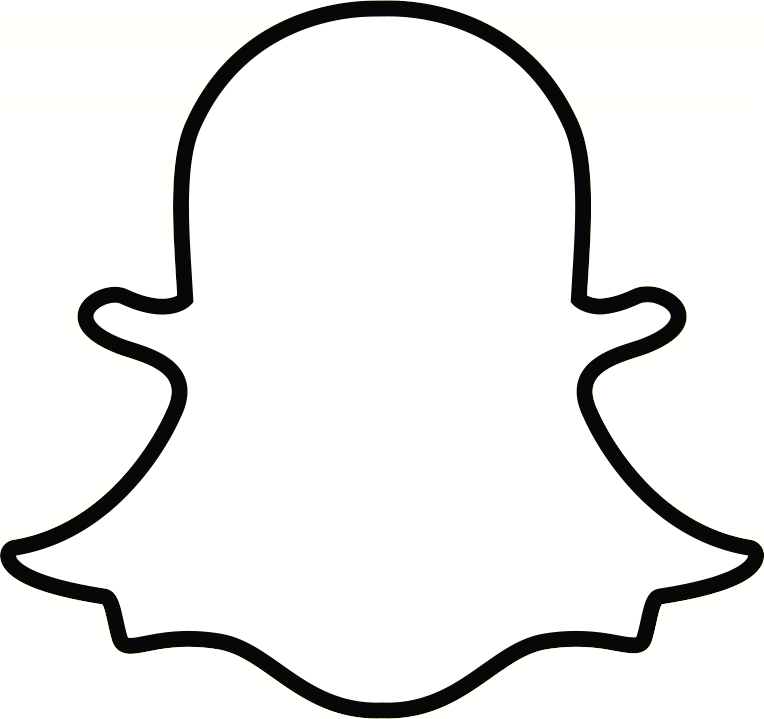 Snapchat ghost png. Facebook icon transparent stickpng