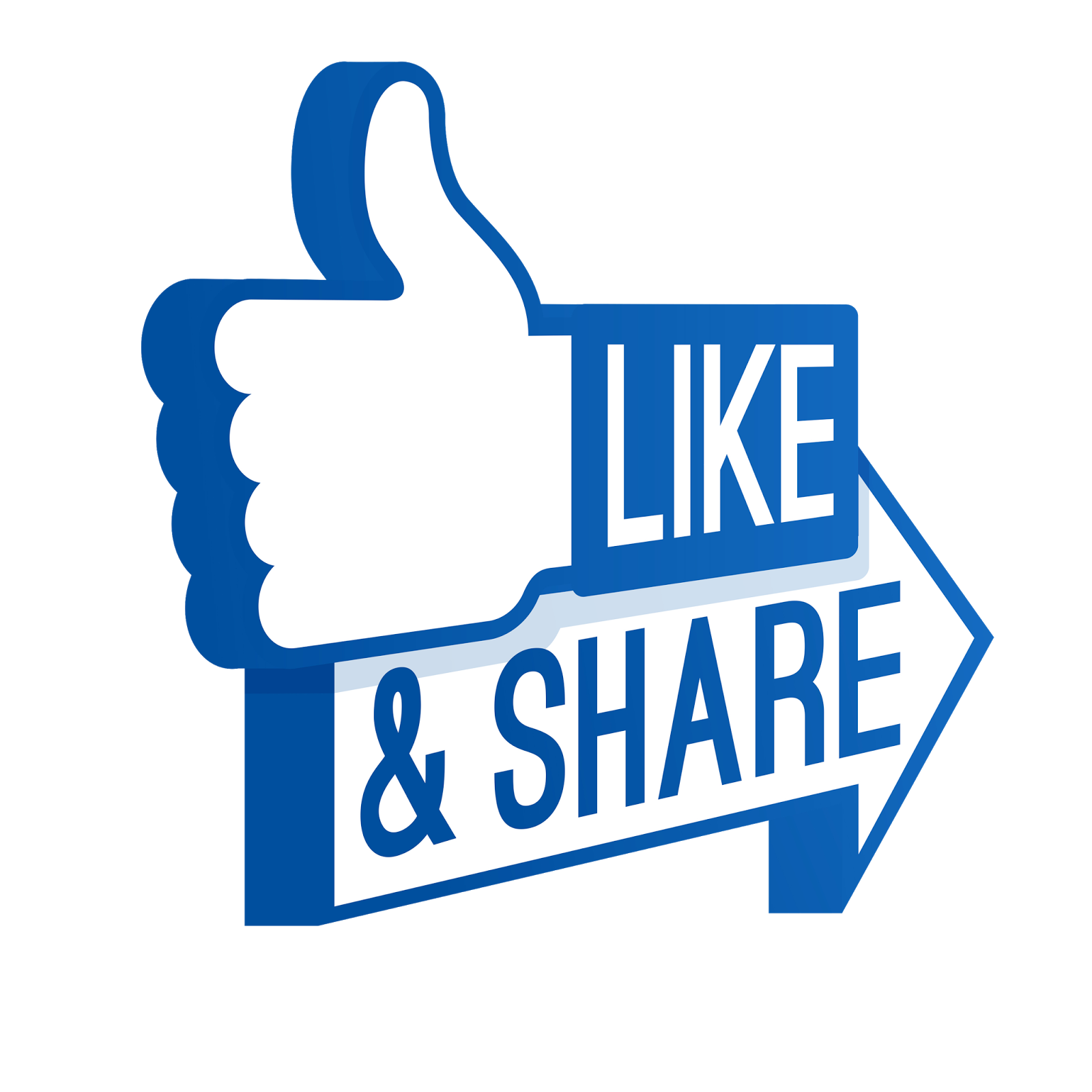 Facebook like logo png. Share transparent background vectors