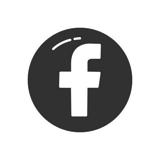 Facebook logo black png. Fb icon page transparent