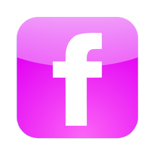 Facebook logo pink png. Icon by jonywallker on