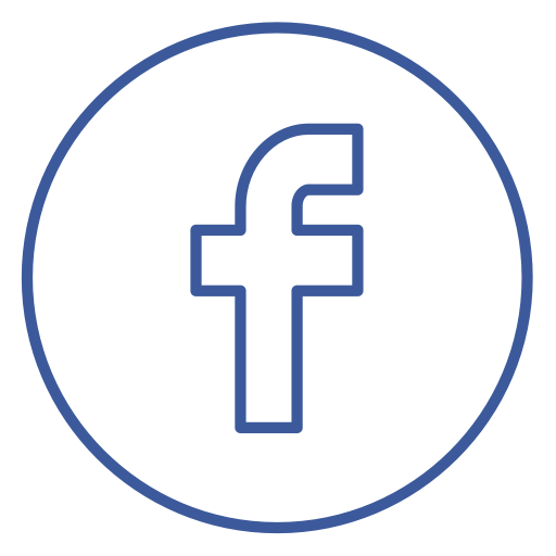 Facebook share png. Neon line social circles
