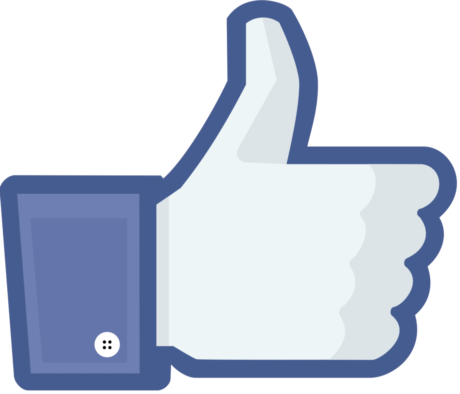 Facebook logo vector png. Like share transparent background