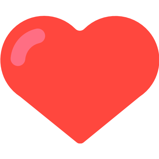 Heavy black emoji for. Facebook heart png svg library stock
