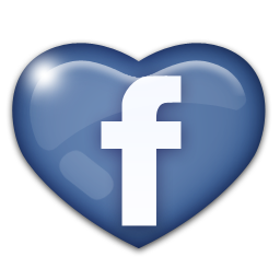 Love. Facebook heart icon png jpg transparent stock