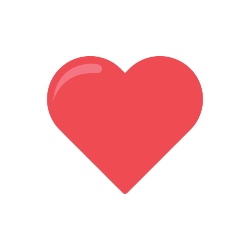 Facebook love icon png. Instagram ui flat by
