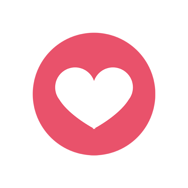 Facebook love png. Icon social media and