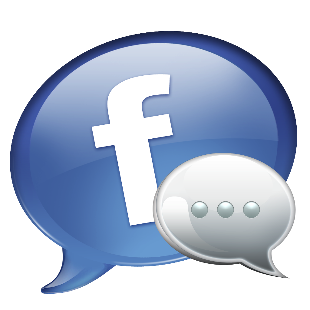 Icons transparent messenger. Facebook png images icon