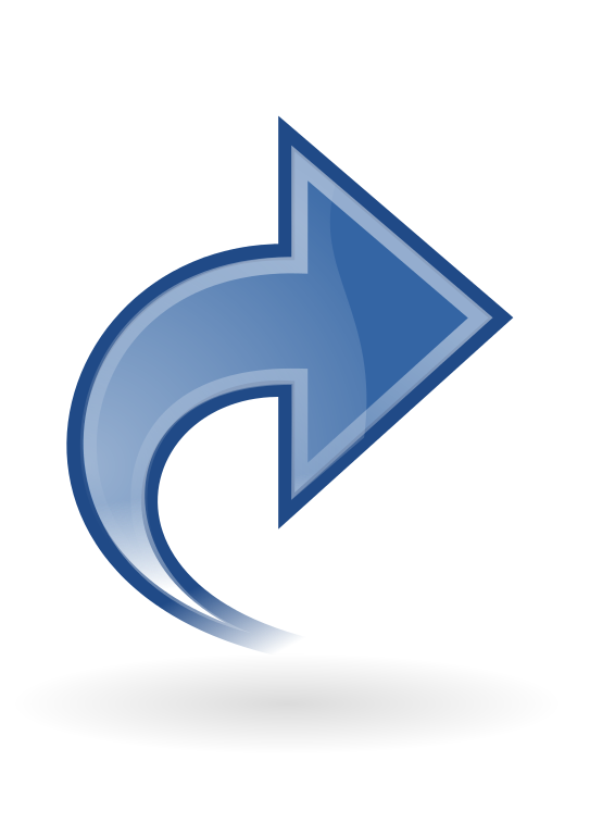 Facebook share png. File dynamic blue right