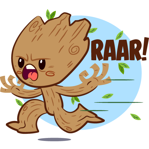 Facebook sticker png. Guardians of the galaxy