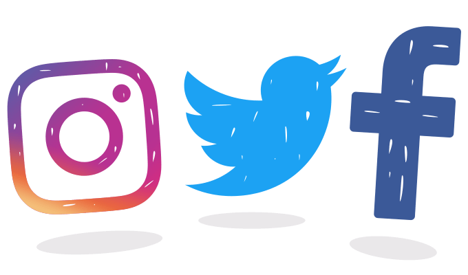 Facebook and instagram logos png. Twitter logo car confident
