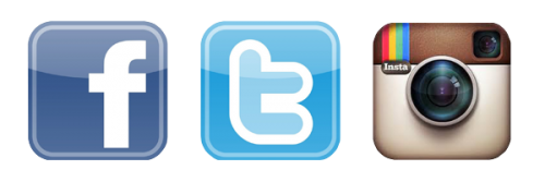 Facebook twitter instagram icons png. With logo images social