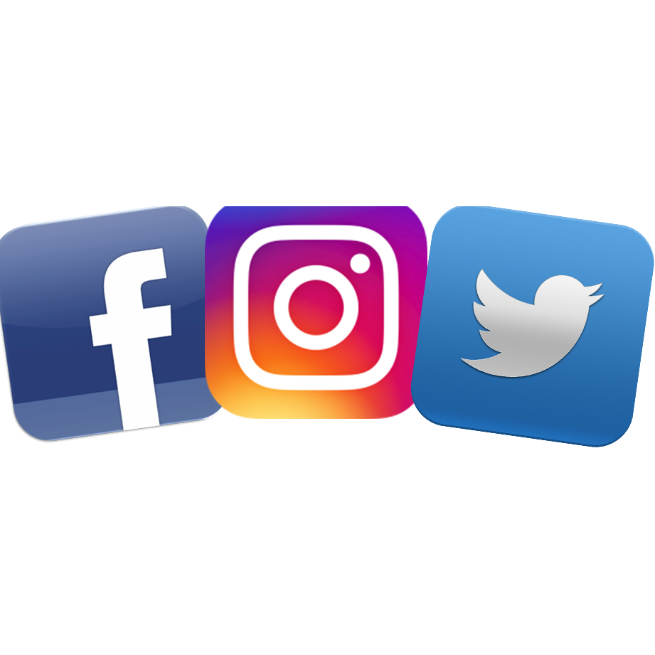 Facebook twitter instagram logo png. Latest icon gif