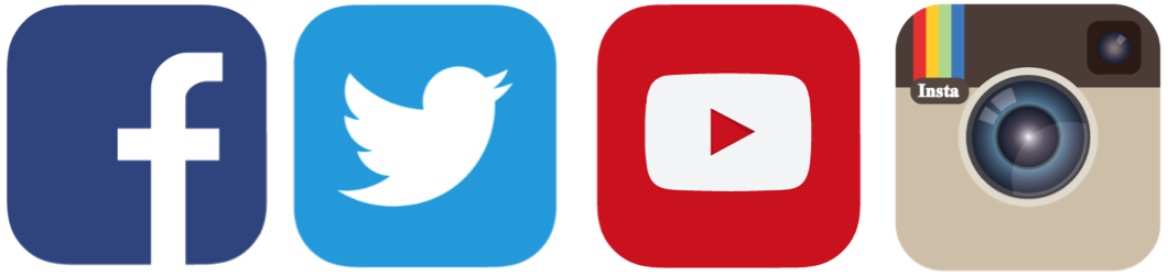 Facebook twitter instagram logos png. Is social media making
