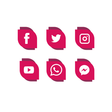 Facebook twitter instagram png. Vectors psd and clipart
