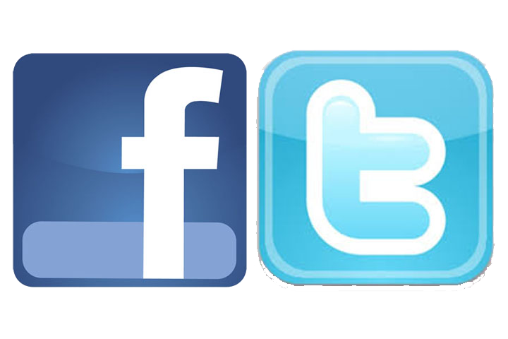 Facebook twitter logo png. And transparent