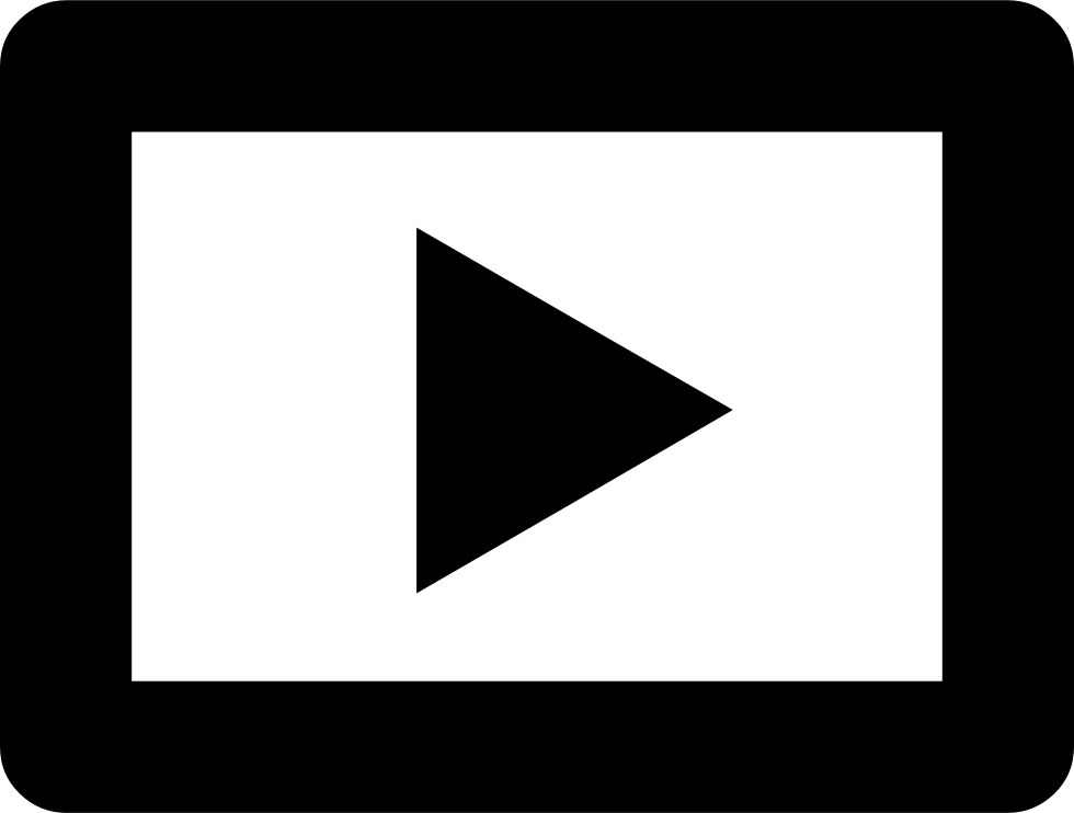 Facebook video play button png. Svg icon free download