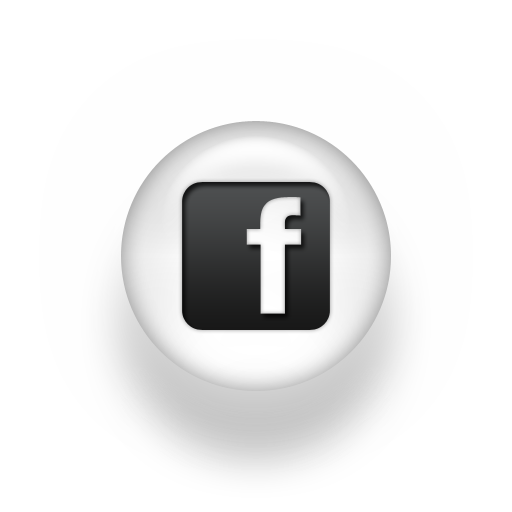 Facebook white png. Free icon black and