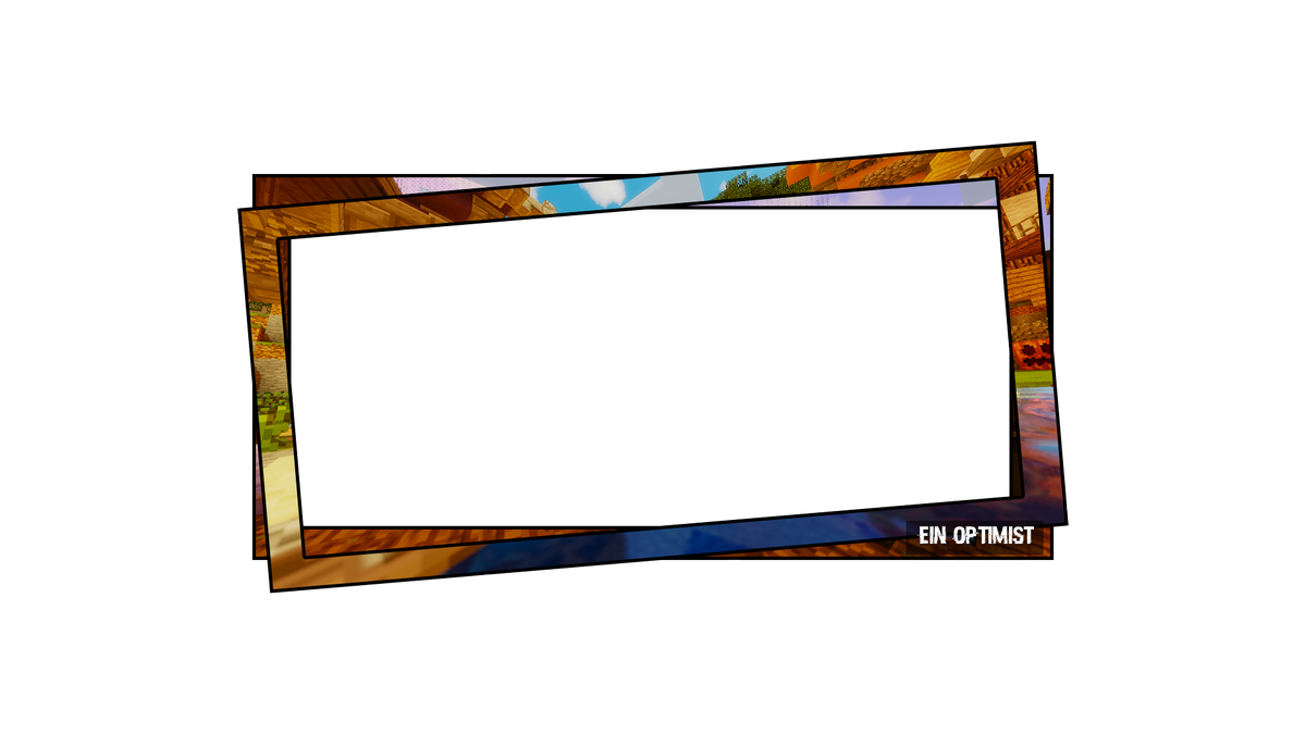 Facecam borders png. Picture frames rectangle border