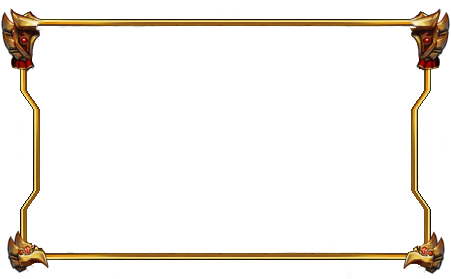 Facecam border png. Free gold stylish by