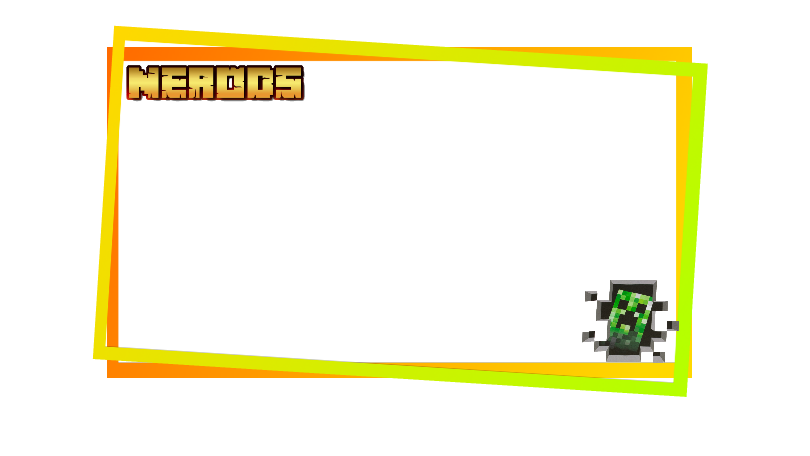 Facecam overlay png. Nerods by amphilp on