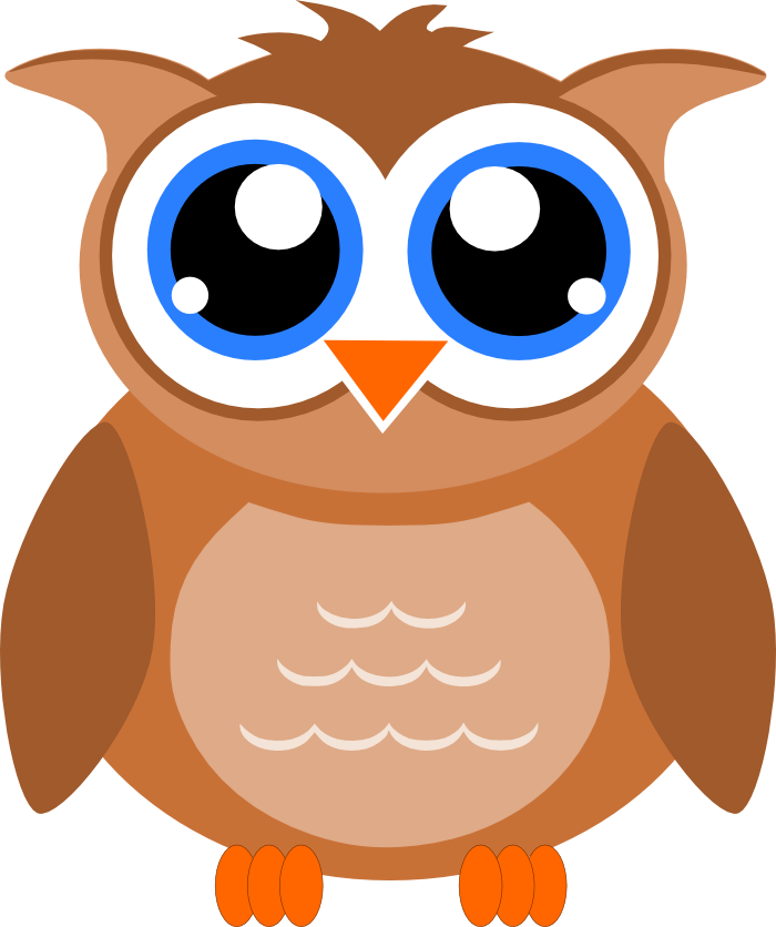 Surprised clipart owl. Cartoon faces images gallery