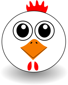 chicken clipart veggy