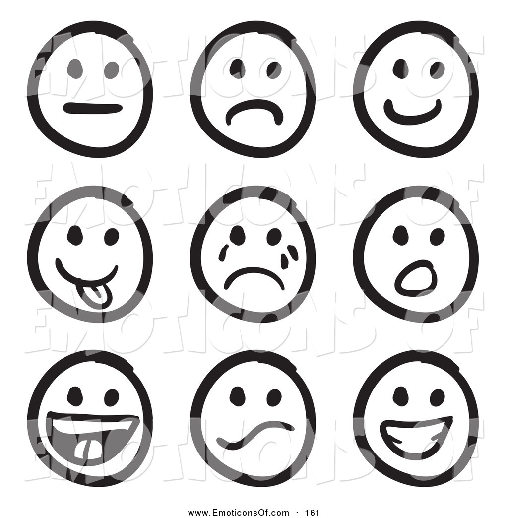 Smiling clipart emotion. Feelings faces