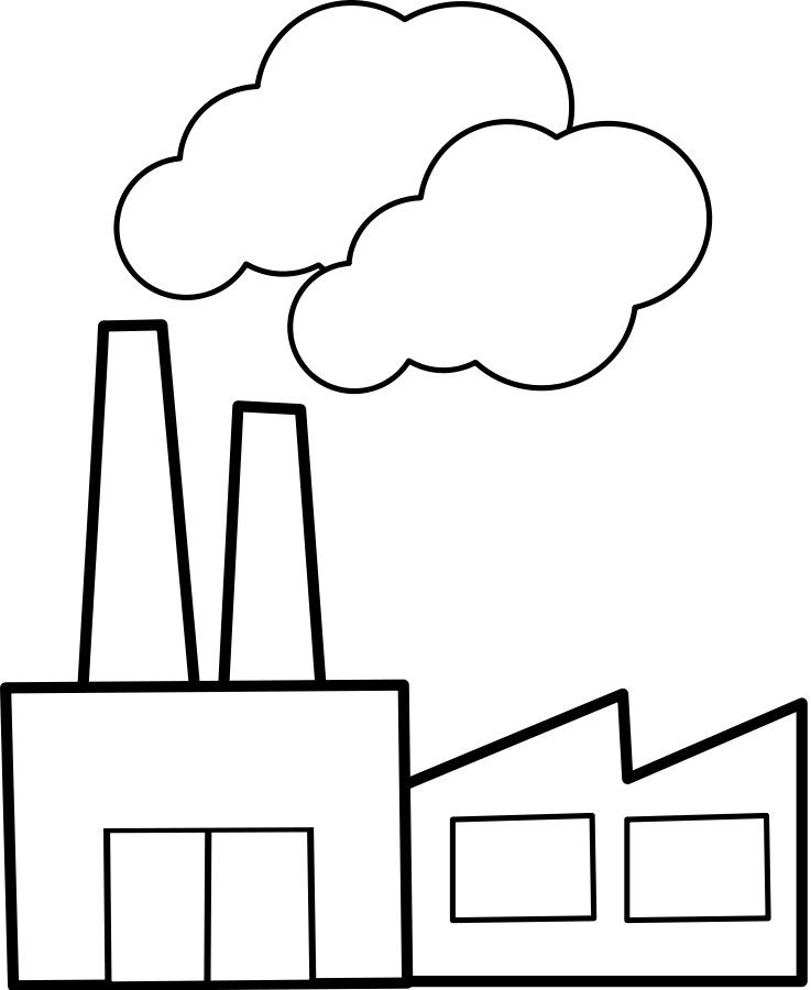 factories clipart military building