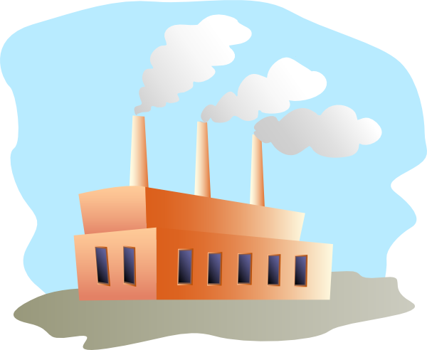 Factories clipart pabrik. Factory clip art at