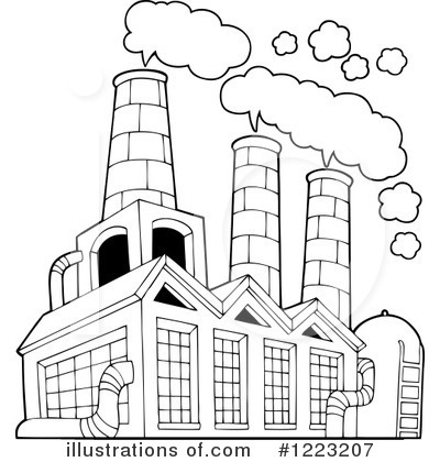 Factories clipart smoking. Rf factory panda free