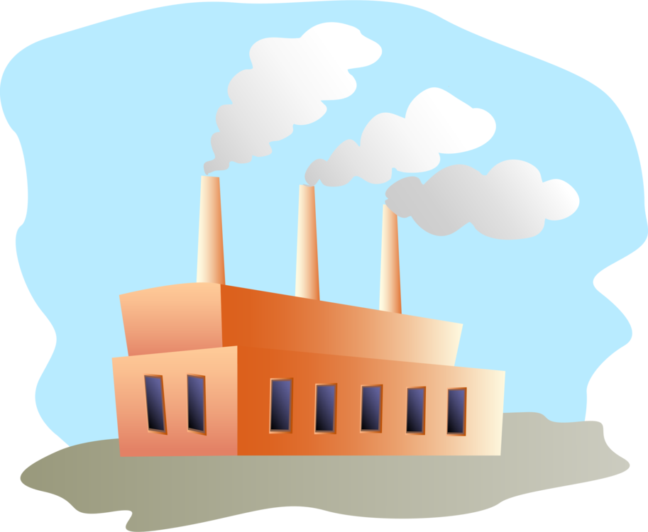 Factory clipart industrial shed. Building computer icons manufacturing