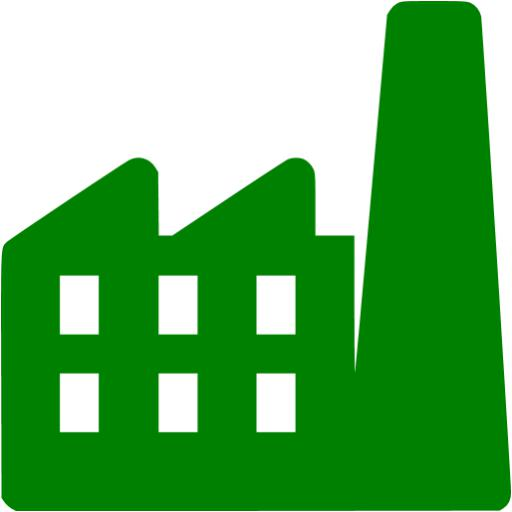Factory clipart green factory. Icon free icons