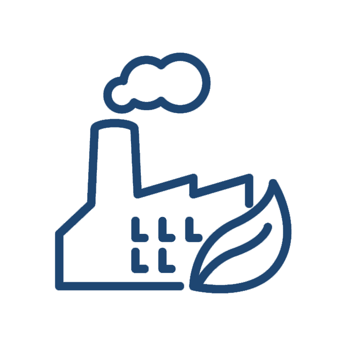 Factory clipart green factory. Emissions icon greenfactoryemissionsicon catalytic