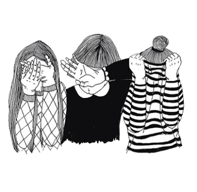 Fade drawing grunge. Girls outline cool tumblr