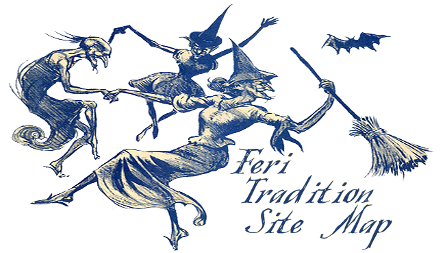 Faerie drawing. Feri tradition website resource