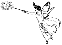 Faerie drawing body. Associations to the word