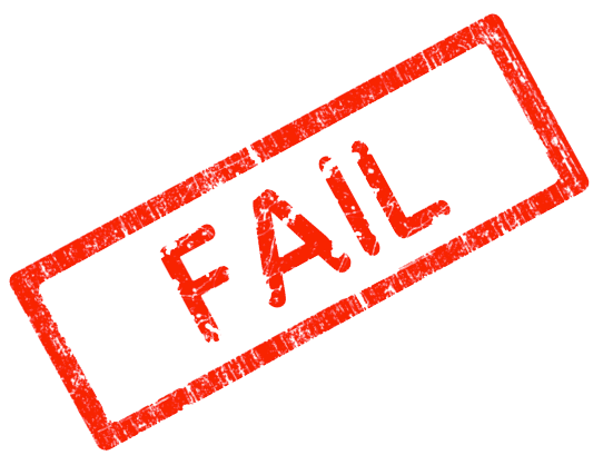 Fail png. Stamp transparent images all