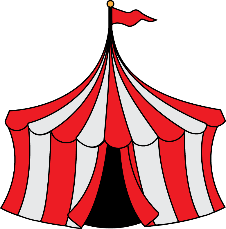Raffle clipart carnival. Clip art circus party