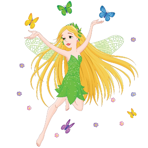 transparent fairy magical