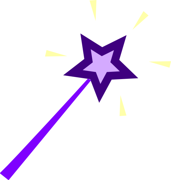 Wand clipart vector. Free purple fairy cliparts
