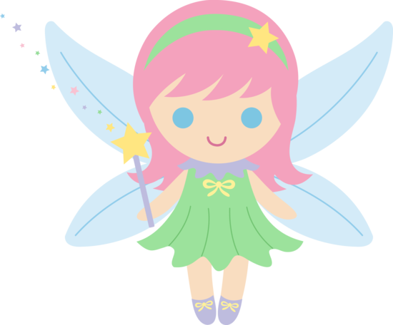 Fairy clipart cartoon.